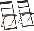 Baseball Collectibles:Others, 1940's/50's Wrigley Field Chairs Lot of 2....