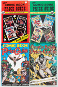 Memorabilia:Comic-Related, Overstreet Price Guide #2-7 and 14 Group (Gemstone, 1972-84) Condition: NM-.... (Total: 7 Items)