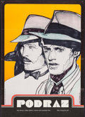 """Movie Posters:Crime, The Sting (Universal, 1975). Czech Poster (23"""" X 35""""). Crime.. ..."""