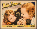 """Movie Posters:Drama, Now and Forever (Paramount, 1934). Lobby Card (11"""" X 14""""). Drama....."""