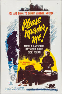"Please Murder Me (DCA, 1956). One Sheet (27"" X 41""). Crime"