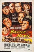 """Movie Posters:War, Battle Hymn & Other Lot (Universal International, 1957). OneSheets (2) (27"""" X 41""""). War.. ... (Total: 2 Items)"""