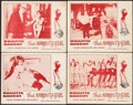 """Movie Posters:Sexploitation, That Naughty Girl (Films Around the World, 1956). First U.S.Release Lobby Card Set of 4 (11"""" X 14""""). Sexploitation.. ...(Total: 4 Items)"""