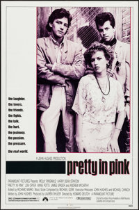 "Pretty in Pink & Other Lot (Paramount, 1986). Folded, Very Fine-. One Sheets (2) (27"" X 41""). Comedy..."