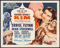 """Movie Posters:Adventure, Kim & Other Lot (MGM, R-1962). Half Sheets (2) (22"""" X 28"""").Adventure.. ... (Total: 2 Items)"""
