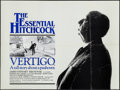 "Movie Posters:Hitchcock, Vertigo (UIP, R-1983). British Quad (30"" X 40""). Hitchcock.. ..."