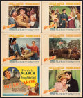 "Movie Posters:Adventure, The Buccaneer (Paramount, 1938). Other Company Title Lobby Card& Lobby Cards (5) (11"" X 14""). Adventure.. ... (Total: 6 Items)"