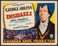 "Movie Posters:Drama, Disraeli (Warner Brothers, 1929). Title Lobby Card (11"" X 14""). Drama.. ..."