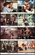"Movie Posters:Action, Commando (20th Century Fox, 1985). Lobby Card Set of 8 (11"" X 14""). Action.. ... (Total: 8 Items)"