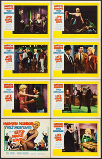 """Let's Make Love (20th Century Fox, 1960). Lobby Card Set of 8 (11"""" X 14""""). Comedy. ... (Total: 8 Items)"""