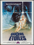 "Movie Posters:Science Fiction, Star Wars (20th Century Fox, 1977). French Affiche (23.5"" X31.25""). Science Fiction.. ..."