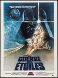 "Movie Posters:Science Fiction, Star Wars (20th Century Fox, 1977). French Grande (47"" X 62.75"").Science Fiction.. ..."