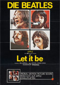 "Movie Posters:Rock and Roll, Let It Be (United Artists, 1970). German A1 (23"" X 33""). Rock andRoll.. ..."