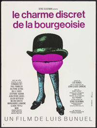 "The Discreet Charm of the Bourgeoisie (20th Century Fox, 1972). French Affiche (23.5"" X 31.5""). Foreign"