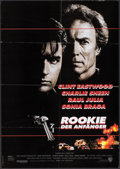 """Movie Posters:Action, The Rookie & Other Lot (Warner Brothers, 1991). German A1s (2) (23"""" X 33""""). Action.. ... (Total: 2 Items)"""