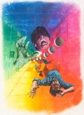 Original Comic Art:Covers, George Wilson - Unpublished Cover Painting Original Art (WesternPublishing, c. 1976-79)....