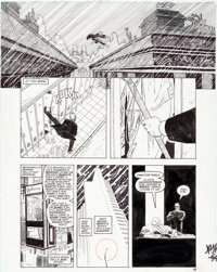 John Romita Jr. and Al Williamson Daredevil: the Man without Fear #4 Story Page 16 Original Art (Marvel, 1994)