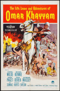 "Movie Posters:Adventure, Omar Khayyam & Other Lot (Paramount, 1957). One Sheet (27"" X41""). Adventure.. ... (Total: 8 Items)"