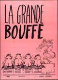 """Movie Posters:Foreign, La Grande Bouffe (ABKCO, 1973). French Grande (46.5"""" X 63"""").Foreign.. ..."""
