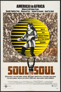 "Movie Posters:Rock and Roll, Soul to Soul (Cinerama Releasing, 1971). One Sheets (2) Identical(27"" X 41""). Rock and Roll.. ... (Total: 2 Items)"