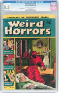Golden Age (1938-1955):Horror, Weird Horrors #1 (St. John, 1952) CGC VF+ 8.5 Off-white to whitepages....