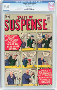 Tales of Suspense #34 (Marvel, 1962) CGC NM 9.4 Off-white pages