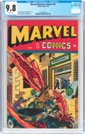 Golden Age (1938-1955):Superhero, Marvel Mystery Comics #72 (Timely, 1946) CGC NM/MT 9.8 White pages....