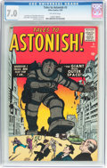 Silver Age (1956-1969):Mystery, Tales to Astonish #3 (Marvel, 1959) CGC FN/VF 7.0 Off-whitepages....