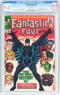 Silver Age (1956-1969):Superhero, Fantastic Four #46 (Marvel, 1966) CGC NM 9.4 White pages....