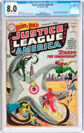 Silver Age (1956-1969):Superhero, The Brave and the Bold #28 Justice League of America (DC, 1960) CGCVF 8.0 Cream to off-white pages....