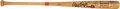 Baseball Collectibles:Bats, 1986 Gary Carter World Series Game Issued Bat Signed by New York Mets Team from The Gary Carter Collection....