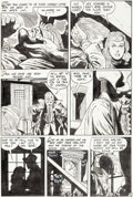 Original Comic Art:Panel Pages, Alex Toth and Mike Peppe Unseen #5 Page 4 Original Art(Standard, 1952)....