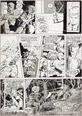Original Comic Art:Panel Pages, Barry Smith Vampirella #9 Story Page 4 Original Art (Warren,1971)....