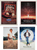 Baseball Collectibles:Others, 1984-96 Gary Carter Collection of Movie Posters IncludingIndependence Day Multi-Signed Poster Lot of 4 from The Gary CarterC...