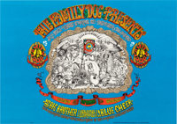 Big Brother and the Holding Company Concert Poster (Family Dog, 1967)