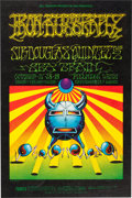 Memorabilia:Poster, Iron Butterfly Fillmore West Concert Poster (Bill Graham, 1968)....