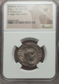 Ancients:Roman Provincial , Ancients: SYRIA. Antioch. Philip I (AD 244-249). AR tetradrachm.NGC XF....