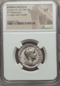Ancients:Roman Provincial , Ancients: SYRIA. Antioch. Gordian III (AD 238-244). AR tetradrachm.NGC VF....
