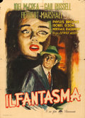 "Movie Posters:Horror, The Unseen (Paramount, 1944). Italian 2 - Fogli (39.5"" X 55"")Rinaldo Geleng Artwork.. ..."