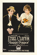 "Movie Posters:Comedy, Maggie Pepper (Paramount, 1919). One Sheet (28"" X 42"").. ..."