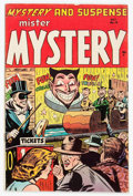 Golden Age (1938-1955):Horror, Mister Mystery #19 (Aragon, 1954) Condition: Apparent VG+....