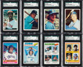 Baseball Cards:Sets, 1975 SSPC and 1976-79 Topps Baseball Set Collection (5) from The Gary Carter Collection....