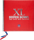 Football Collectibles:Publications, 2006 Super Bowl XL Opus MVP Edition Multi Signed by Super Bowl Most Valuable Players. ...