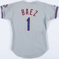 Baseball Collectibles:Uniforms, 1993 Kevin Baez Game Worn New York Mets Jersey. ...