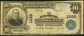 National Bank Notes:Virginia, Lynchburg, VA - $10 1902 Plain Back Fr. 625 The Lynchburg NB Ch. #1522. ...
