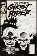Original Comic Art:Covers, Sal Buscema and Mike Esposito The Original Ghost Rider #19Cover Original Art (Marvel, 1994)....