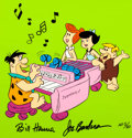 "Animation Art:Limited Edition Cel, The Flintstones ""Stoneway Piano"" Limited Edition Cel(Hanna-Barbera, 1988)...."