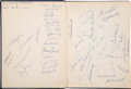 Baseball Collectibles:Publications, Baseball Greats Multi-Signed Hardcover Book - With Jimmie Foxx, Roger Maris, etc....