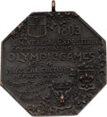 Miscellaneous Collectibles:General, 1904 St. Louis Summer Olympics Participation Medal....