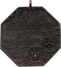 1904 St. Louis Summer Olympics Participation Medal